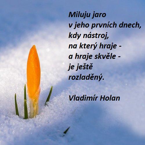 Jarní báseň