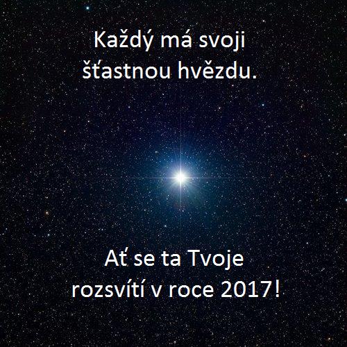 Mystické novoroční přání 2017