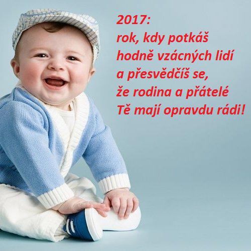 Veselé novoroční přání 2017