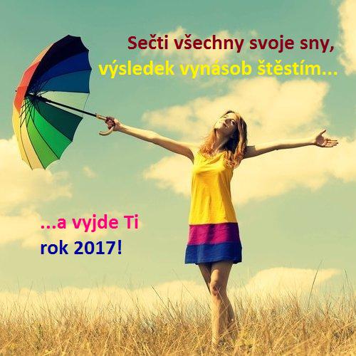 Šťastné novoroční přání 2017