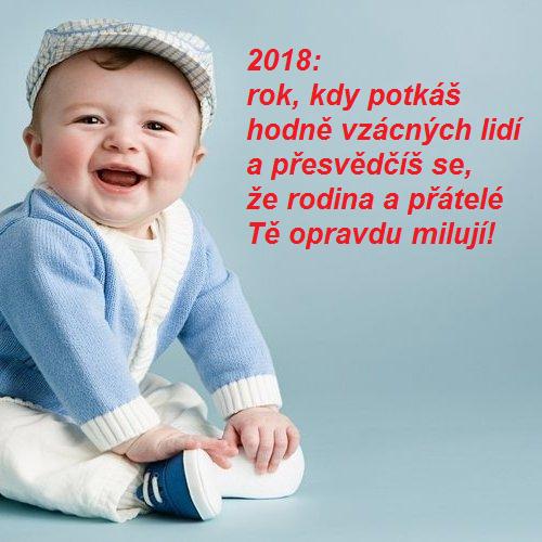 Novoroční přání 2018 - rodina