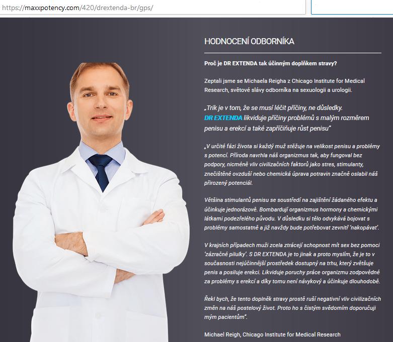 Dr Extenda - recenze, cena, diskuse