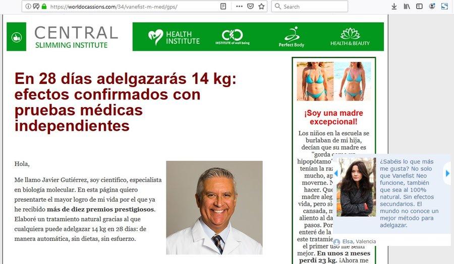 Španělská reklama na Vanefist Neo - recenze, cena, diskuse