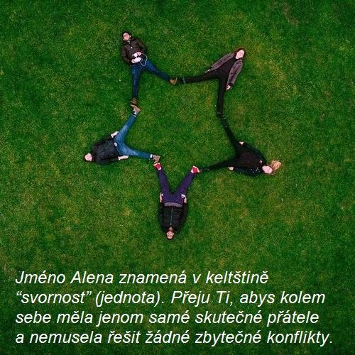 Alena - svátek, přání