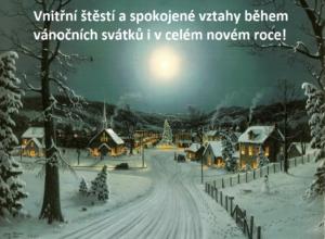 Vánoční přání ke stažení zdarma: sousedské vztahy