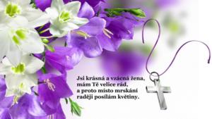 Slavnostní kytice pro ženu na Velikonoce
